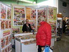 Časopisy s recepty a praktickými radami pro zahrádkáře za pouhých 22 korun kus.