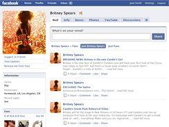 Veřejný profil Britney Spears