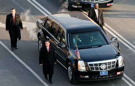 Obamův Cadillac One