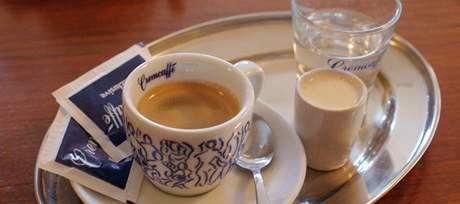 kavárna Gimmi, espresso