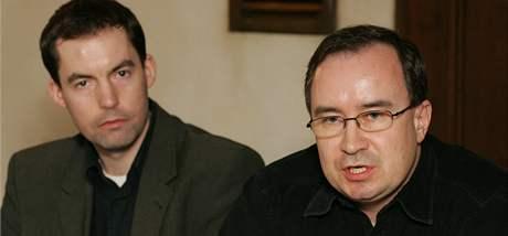 Martin Zbela (vlevo) a Tomáš Vandas