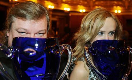 Ceny Thálie 2008 - Norbert Lichý a Petra Hřebíčková