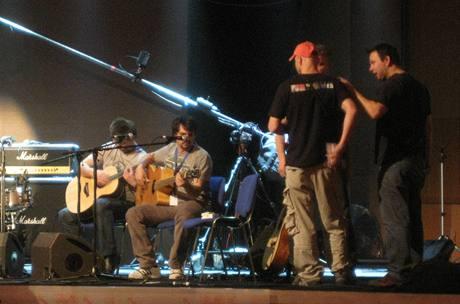 Anděl 2008 - zvuková zkouška (Kryštof)