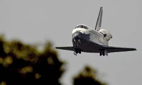 Přistání raketoplánu Discovery (28. března 2009)