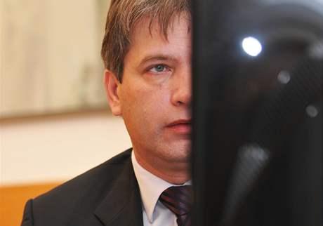 Primátor města Brna Roman Onderka při on-line rozhovoru