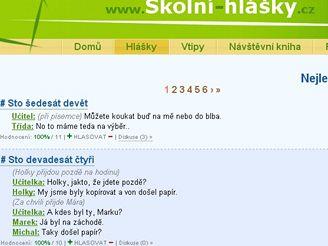 Školní-hlášky.cz