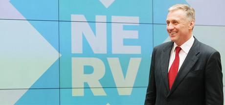 Mirek Topolánek po zasedání NERV. (29. března 2009)