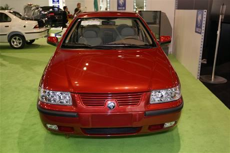 Khodro - íránská automobilka na ženevském autosalonu