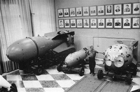 Atomové bomby v muzeu