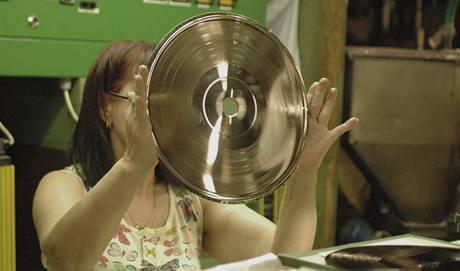 Matrice na lisování vinylu