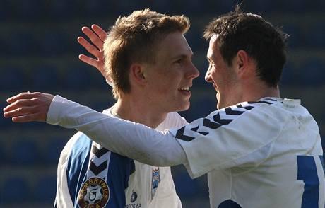 Bořek Dočkal (vlevo) a Andrej Kerič