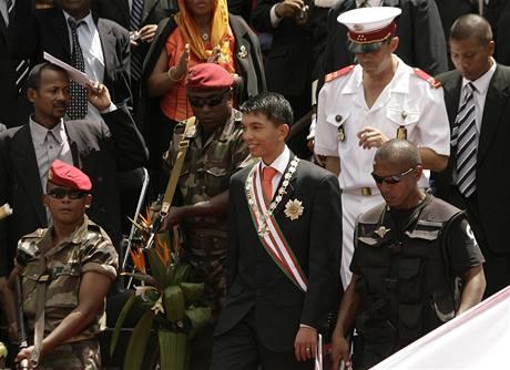 Prozatimní prezident Andry Rajoelina složil slib
