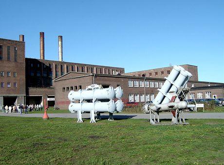Německo, Penneműnde. Historicko-technické informační centrum