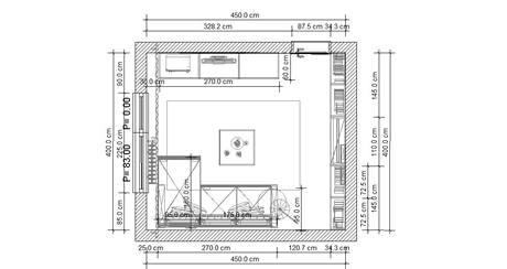 Proměna obývacího pokoje v panelovém bytě