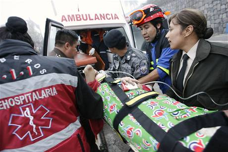 Letecká havárie v ekvádorské metropoli Quito (20. března 2009)