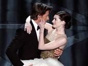 Oscar 2008 - Anne Hathaway a Hugh Jackman