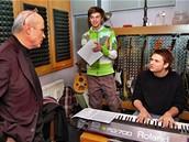 Kudykam - Michal Hor��ek, Ond�ej Brzobohat� a Vojta Dyk ve studiu