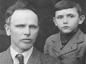 Jaroslav Melkus se svým synem