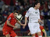 Kvalifikace fotbalového mistrovství světa 2010. Slovinsko - Česko
