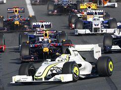 Velk� cena Austr�lie, v �ele Jenson Button