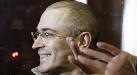 Michail Chodorkovskij u soudu v Moskvě (31. března 2009)