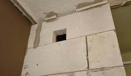Otvor pro odvětrání koupelny