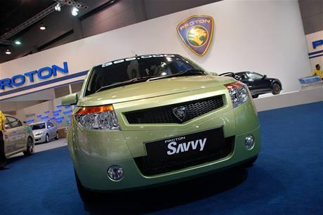 Autosalon Bangkok 2009 - Proton Savvy