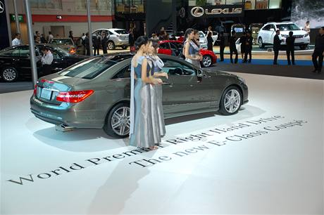 Autosalon Bangkok 2009 - Nový Mercedes E