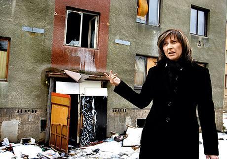 Chomutovská primátorka Ivana Řápková