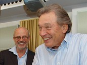 Kudykam - Karel Gott ve studiu s Michalem Hor��kem a Ond�ejem Brzobohat�m