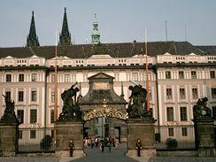 První nádvoří Pražského hradu