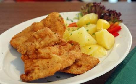 Restaurace Jantar: vepřový řízek