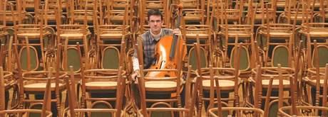 Violoncellista brněnské filharmonie Michal Greco je jedním ze tří Čechů, kteří budou členy YouTube orchestru.
