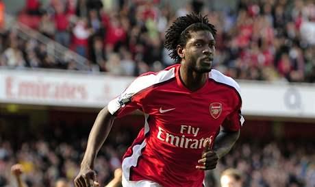 Emmanuel Adebayor z Arsenalu