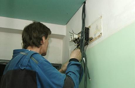 Odpojování elektřiny