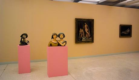 Národní galerie. Nová stálá expozice ve Veletržním paláci.