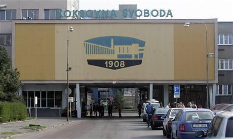 Výbuch zásobníku se čpavkem v Koksovně Svoboda v Ostravě-Přívoze (9.dubna 2009)
