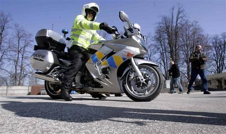 Nové policejní yamahy
