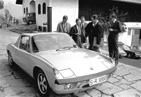 Ferry Porsche a jeho Porsche 914-8