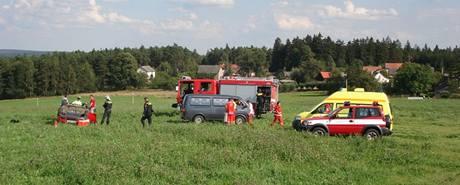 Havárie z roku 2007 u odbočky na Trhomné na Plzeňsku
