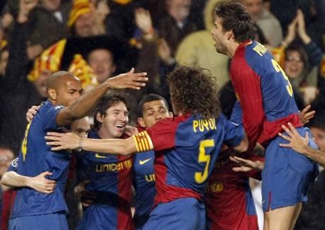 Barcelona: radost