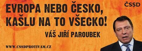 Billboardů budou řádově stovky a schválila je volební komise strany i předseda Mirek Topolánek.
