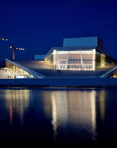 Grand opera - pohled z moře