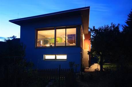 Po úpravách dostal dům modernější a dynamičtější ráz