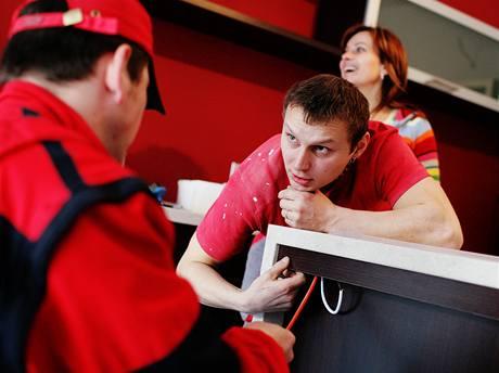 Libor si rád nechá poradit od specialistů, kteří dohlížejí na kvalitu provedené práce