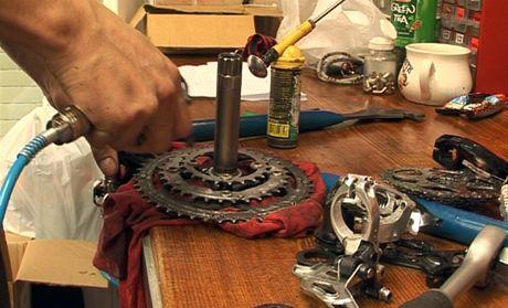 Kontrola a seřízení kola v cykloservisu