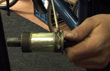 Kontrola, údržba a seřízení kola v cykloservisu