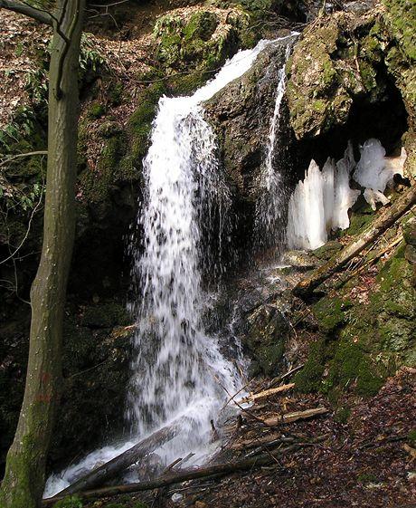 Maršovský vodopád horní