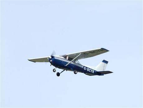 Jednomotorový letoun cessna