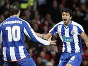 Manchester - Porto: Rodriguez a Lucho se radují